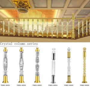High Quality Acrylic Crystal Stair Railing Column Foshan pictures & photos