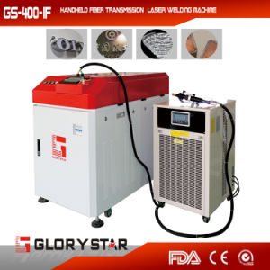 Handheld Laser Welding Machine GS-400-1f pictures & photos