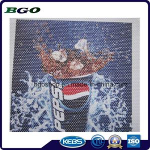 One Way Vision Window Film Screen Printing (140mic film 140g release paper) pictures & photos