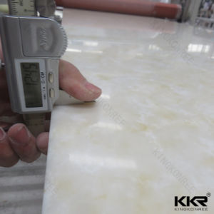 Veining Pattern 12mm 100% Acrylic Solid Surface Slabs (171102) pictures & photos