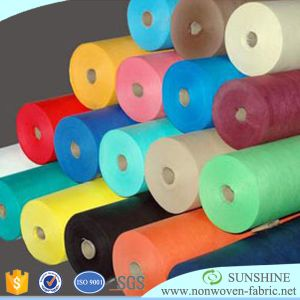 PP Spunbond Nonwoven Fabric From China in Rolls pictures & photos