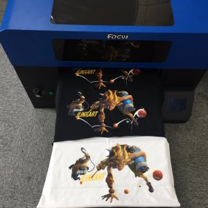 Fashionable A3 Size Digital Printing Machine DTG Printer for T-Shirt pictures & photos