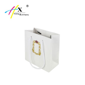 Customized Paper Shopping Bag with Logo pictures & photos