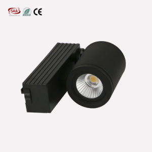High Quality White/Black Finish Aluminum Mini COB LED Track Light 9W for Shopping Mall pictures & photos