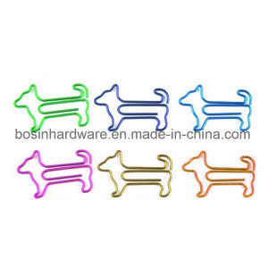Small Dog Shape Metal Paper Clips pictures & photos