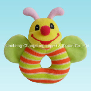 Plush Bee Baby Toys for Hand Holding pictures & photos