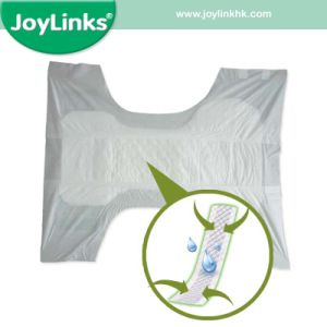 PP Tape with PE Film Backsheet Adult Baby Diapers pictures & photos