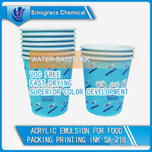 Fast Drying Acrylic Emulsion for Printing Ink pictures & photos