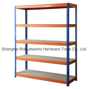 5 Tiers Storage Shelf Steel Rack (8040-100) pictures & photos
