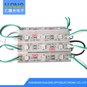 Custom Ce/RoHS Waterproof High Brightness 3PCS SMD 5050 LED Module pictures & photos