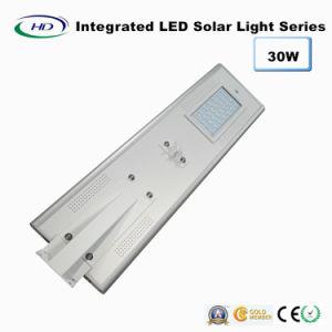 30W PIR Sensor Integrated LED Solar Garden Light pictures & photos