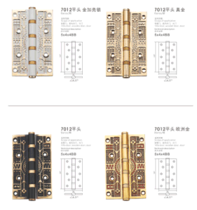 2016 New Style Luxury Brass Hinge (7012) pictures & photos