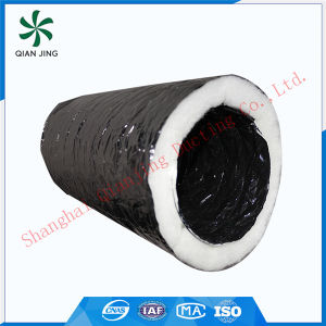 254mm 10inches Polyester Insulation Aluminum Flexible Duct for HVAC System pictures & photos