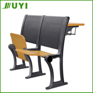Jy-U204 Trusted Supplier School Students Desk and Chairs Wooden pictures & photos
