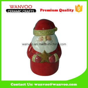 Hollow Ceramic Santa Claus Gift for Christmas Holiday Decoration Gift pictures & photos