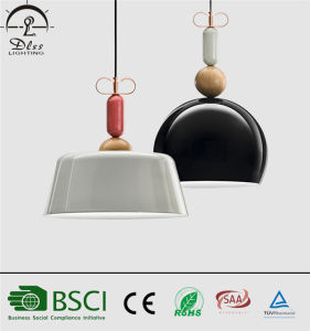 Simple Style Green Color Aluminum Hanging Lamps for Indoor Lighting pictures & photos