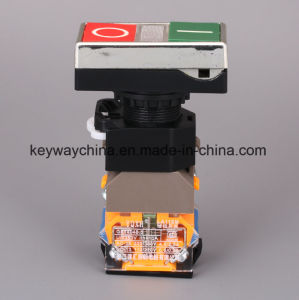 Illuminated-Square Head Type Pushbutton Switch (LA118MLS) pictures & photos