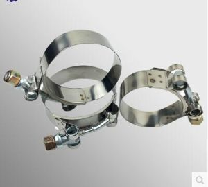 Rounded Band Edges Ss304 T-Bolt Constant Tension Hose Clamp pictures & photos