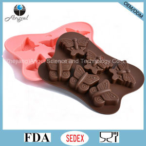 Hot Sale Butterfly Cake Tool Silicone Chocolate Mold Si24