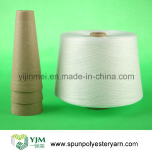 100% Polyester Yarn China Supplier (20s 30s 40s 50s 60s) pictures & photos