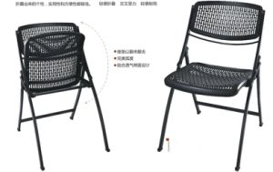 Plastic Foldable Chair Student Chair with Writing Table pictures & photos
