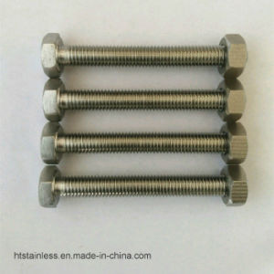 Monel 400 DIN933 Hex Head Bolt pictures & photos