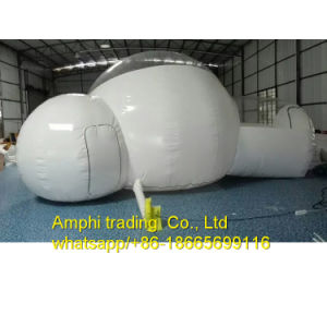 Durable Camping Inflatable Bubble Tent Transparent Clear Ball with Two Entrances pictures & photos