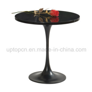 Black Metal Painting Tulip Table for Reception Room (SP-GT391) pictures & photos