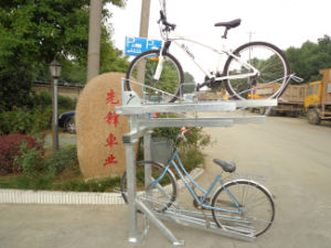 Double Deck Bike Stands Parking Stands pictures & photos