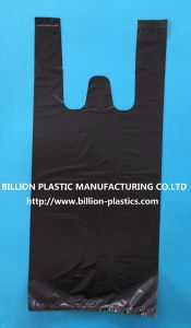 T-Shirt Bag Gusset Bag Shopping Bag Plastic Bag pictures & photos