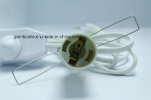 Europe Standard E14 Salt Lamp Power Cord on/off Dimmer Switch pictures & photos