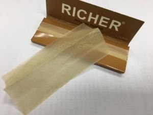 South America Market Favorite Unlbeached Brown Cigarette Smoking Rolling Paper pictures & photos