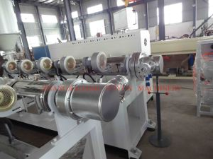 Plastic Extrusion Machine for PE PVC PA PP Flexible Conduits Corrugated Pipe pictures & photos