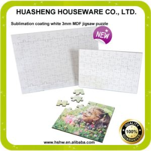 3mm MDF Jigsaw Puzzle From Chinese Factory