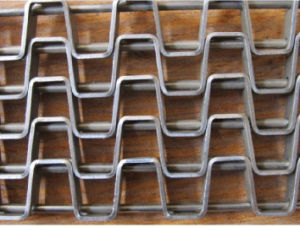 Stainless Steel Flat Wire Mesh Belt for Food Processing Heat Treatment pictures & photos