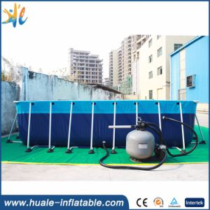 Customized Detachable Metal Feame Swimming Pool for Water Park pictures & photos