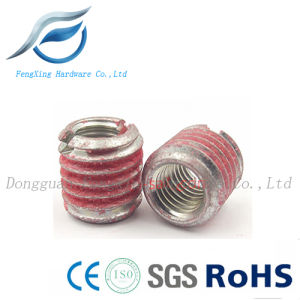 Carbon Steel Wire Thread Insert Nut with Nylon Coating pictures & photos