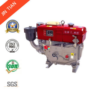 Water Cooled Single Cylinder Diesel Engine with CE Approved (R180) pictures & photos
