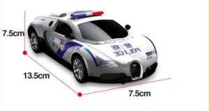 R/C Deformation Bugatti Police Car (License) Car Toy pictures & photos