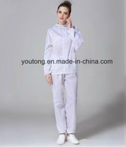 100%Polyester with Carbon ESD Antistatic Garments pictures & photos