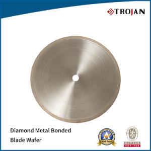 Diamond Metal Bond Wafering Blade, Diamond Plating Blade Cutting Wafer, Diamond Resin Bonded Blade Wafer pictures & photos