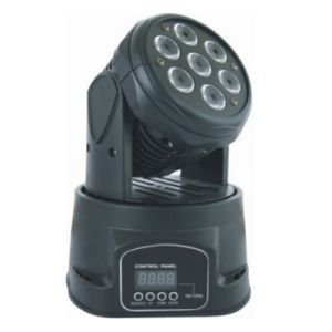 7X15W Moving Head RGBWA+UV 6in1 for DJ Lighting pictures & photos