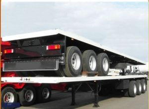 40FT Container Type 3 Axle Modular Flat Bed Platform Trailer pictures & photos