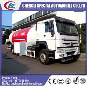 6*4 Sino Truck LPG Tanker Truck for Sale pictures & photos