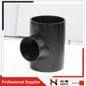 Custom Reducer Equal HDPE Types Drain Siphonic Fitting Y-Shap 90 Degree Pipe Tee pictures & photos