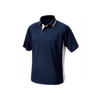 Quick Dry Fit Business 100% Cotton Blank Polo Tshirt pictures & photos