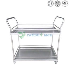 Medical Stainless Steel Vet Double Equipment Veterinary Vehicle pictures & photos