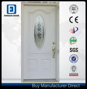 Hand Craft Premium Fiberglass Entrance Insulated Front Door with 2 Full Sidelites pictures & photos