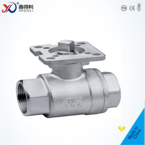 Factory Stainless Steel 2PC Screwed End Ball Valve (1000psi) pictures & photos