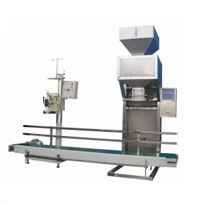 Semi Automatic Fertilizer Bag Weighing Filling Sealing Packing Machine pictures & photos